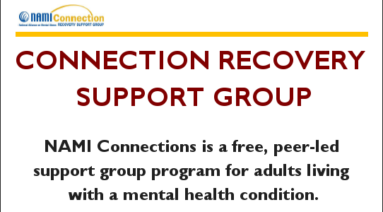 Connection Recovery Support Group